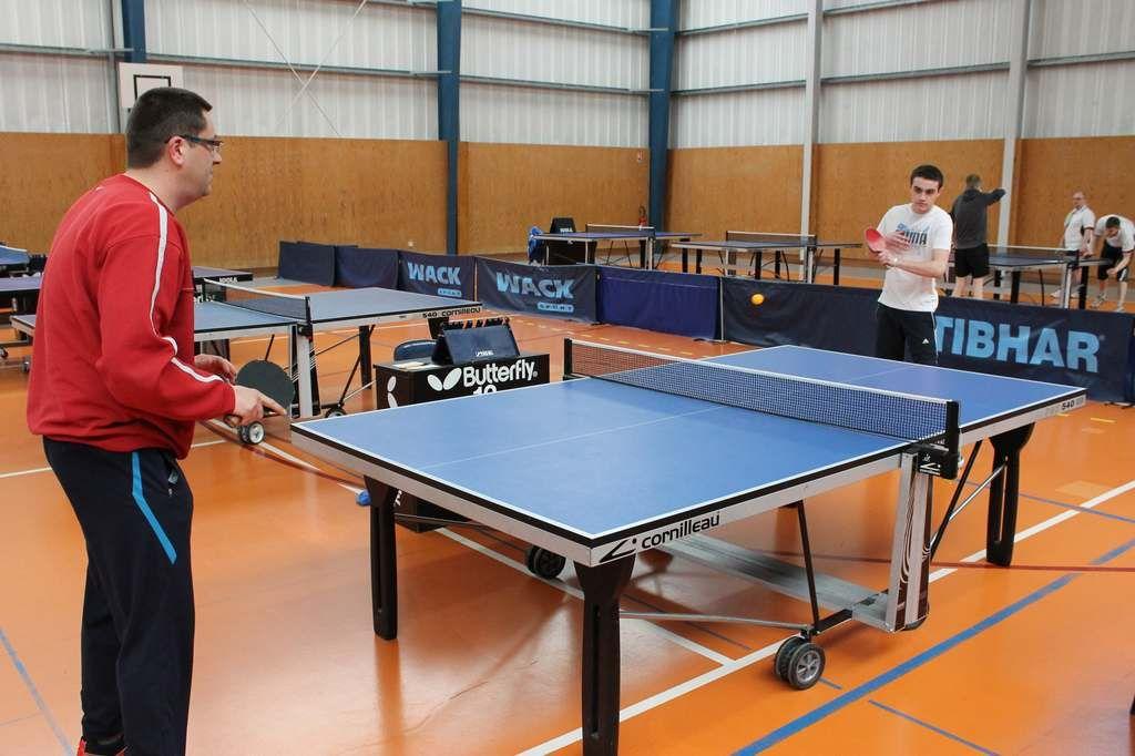 Sport rural 62 les pongistes saint omer pour le final - Wake sport tennis de table ...